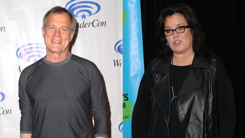 Illustration for article titled Rosie O'Donnell Lambastes Stephen Collins In an Epic Free-Verse Poem