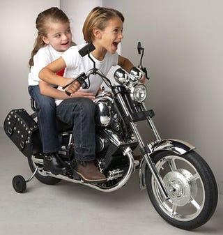 Illustration for article titled Brat Bike Looks Like a Harley