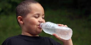 Drinking water is a healthy alternative. (Thinkstock Images)