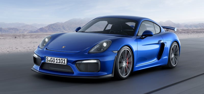 Illustration for article titled Porsche Will Build A Cayman GT4 Race Car
