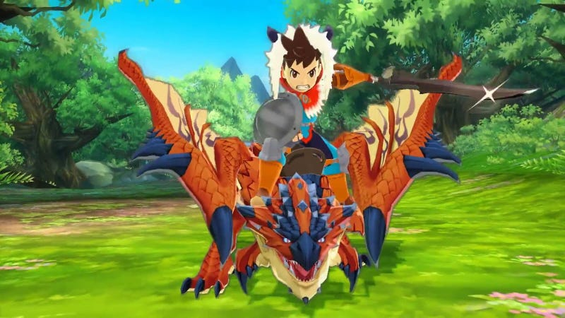 Illustration for article titled Monster Hunter Stories Is The Best Pokémon Game I've Ever Played