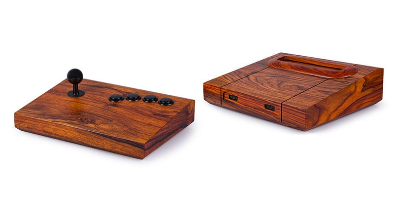 Illustration for article titled Now You Can Own An Incredibly Expensive Neo Geo Made Of Exotic Wood