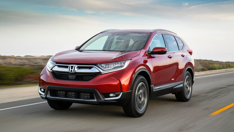 Honda Recalls 120,000 CR-Vs Because the Airbag Could Randomly Go Off in Your Face