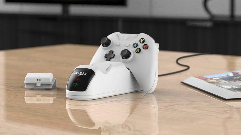 Vogek 1,200mAh Xbox One Controller Charging Bundle | $17 | Amazon | Promo code BMA8YGECVogek 2,000 mAh Xbox One Controller Charging Bundle | $24 | Amazon | Promo code CFAP5RU7