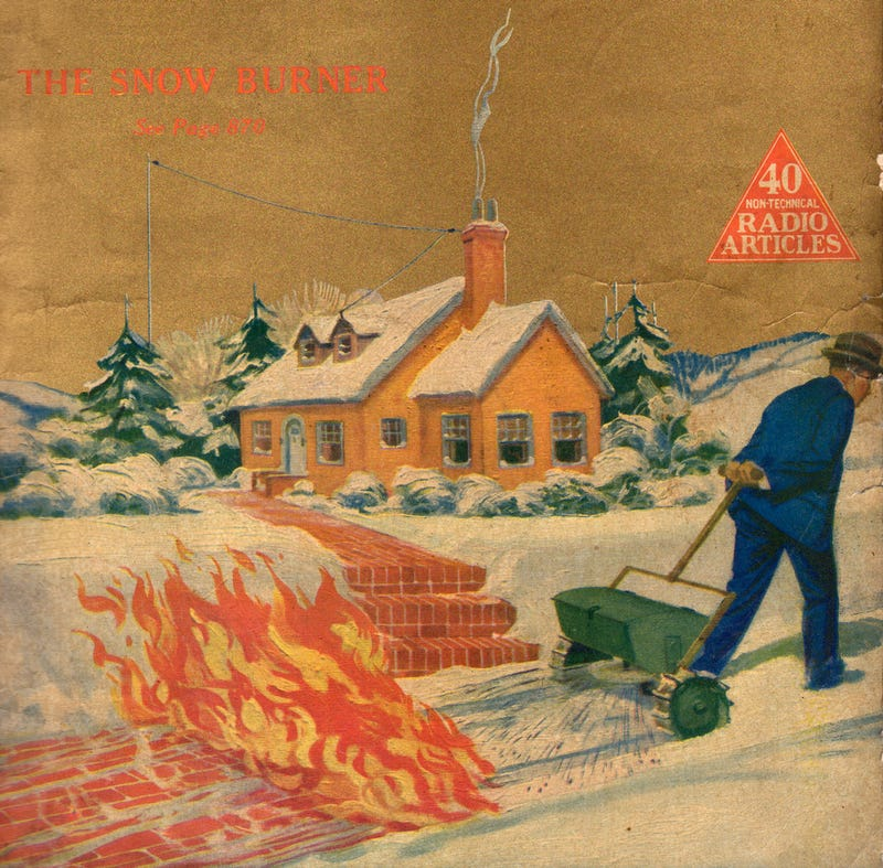 Illustration for article titled Tell Me You Wouldn't Buy This Snow-Fighting Fire Plow
