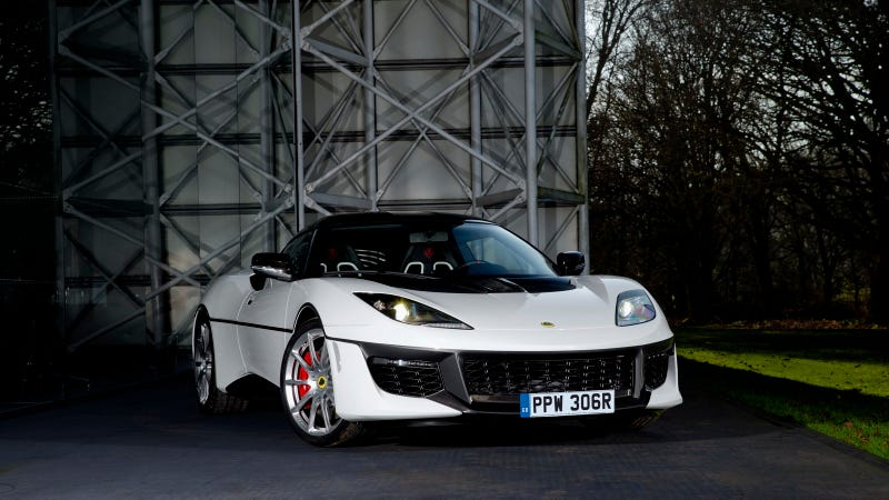 Illustration for article titled Here's That Odd New (But, Let Me Be Clear, Good) Esprit-Tribute Lotus Evora