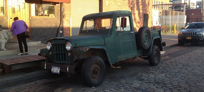 Illustration for article titled This Willys Is A Symbol Of Everything That Is No More