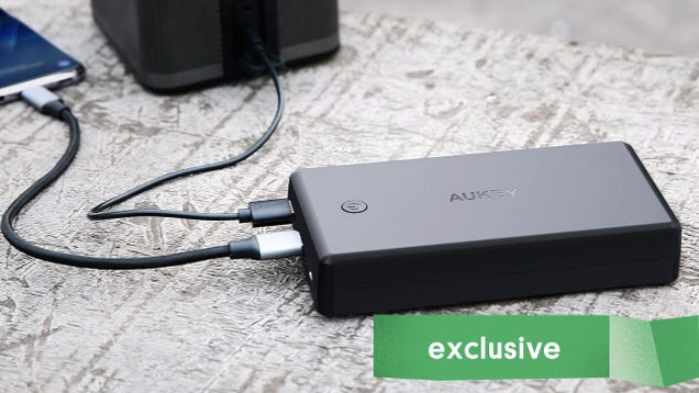 Aukey s 30,000mAh USB-C Power Bank Falls to Lowest-Ever $45 [Exclusive]