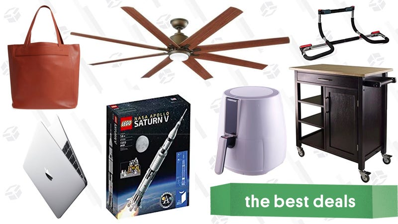 Illustration for article titled Sunday's Best Deals: Air Fryer, Cat Scratch Lounger, Brother Label Maker, and More
