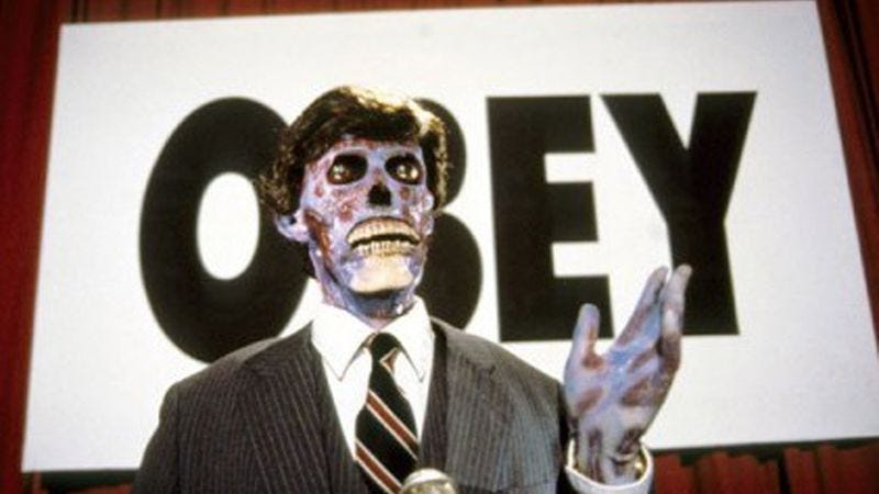Illustration for article titled They Live remake is no longer technically a remake