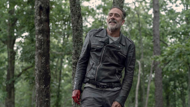 Negan Has an Awkward Conversation in This Clip From The Walking Dead s Season 10 Finale