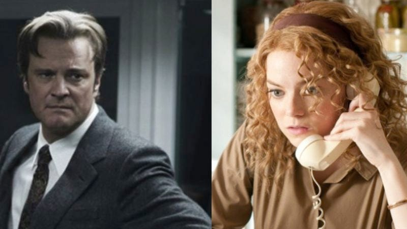 Illustration for article titled Colin Firth may join Emma Stone in Untitled Woody Allen Project Shot In France 2