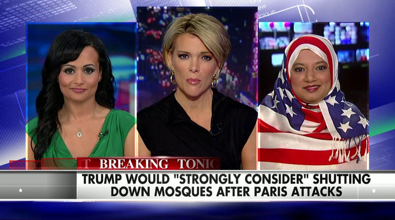 Illustration for article titled This Hijab Is the Purest Shade You'll Ever See on Fox News