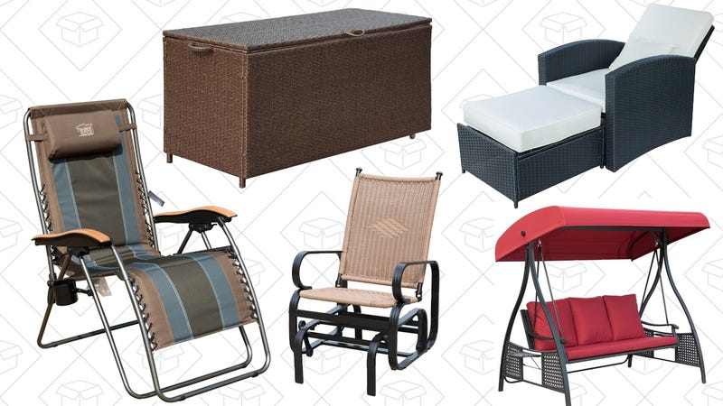 Outdoor Seating Gold Box | Amazon