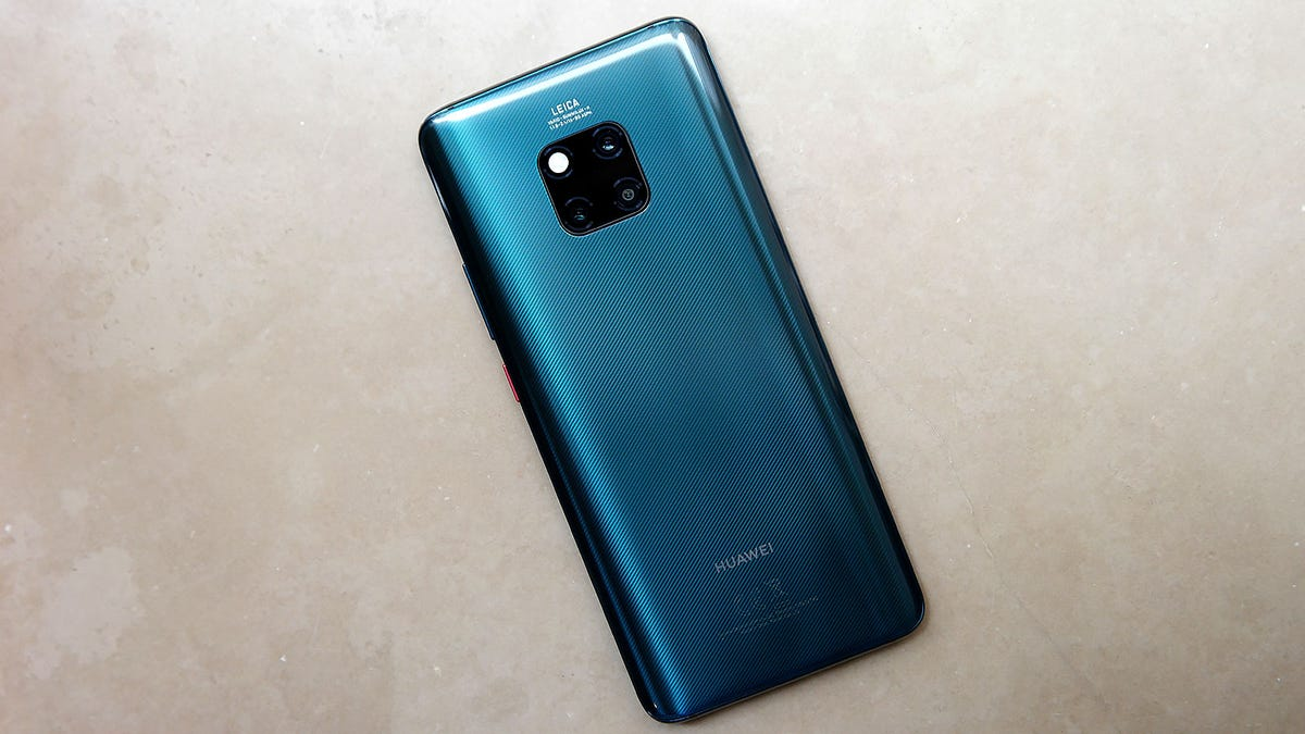 Huawei's Mate 20 Pro Is Absolutely Loaded