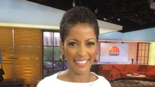 Tamron Hall on the set of the Today showTwitter