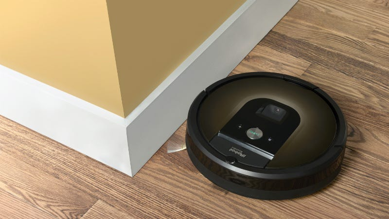 Illustration for article titled This Roomba Maps Your House So It Won't Keep Ramming Into Your Couch