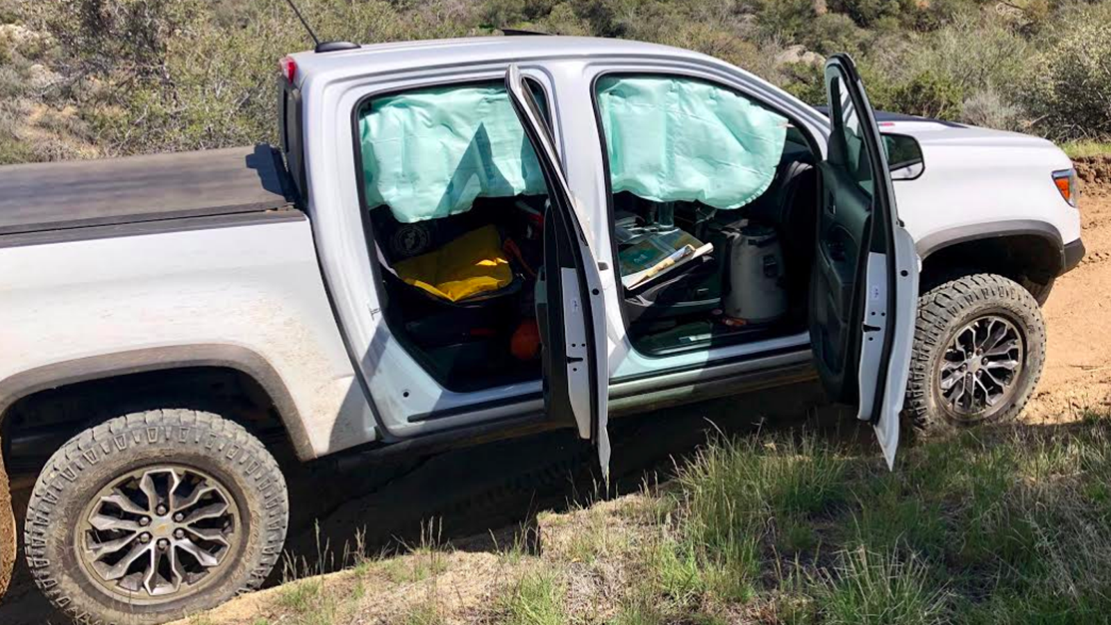 Chevrolet Colorado Side Curtain Airbags Keep Deploying On ...
