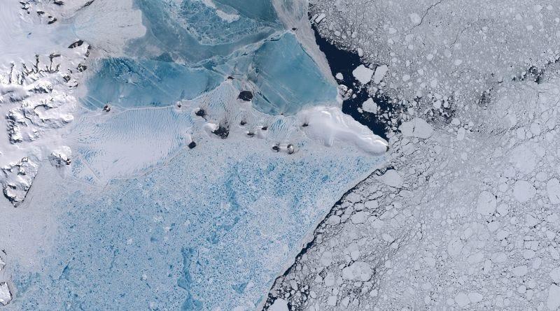 """Illustration for article titled """"Es como si estuvieran tocando una flauta"""": científicos descubren un extraño sonido en la plataforma de hielo antártico"""
