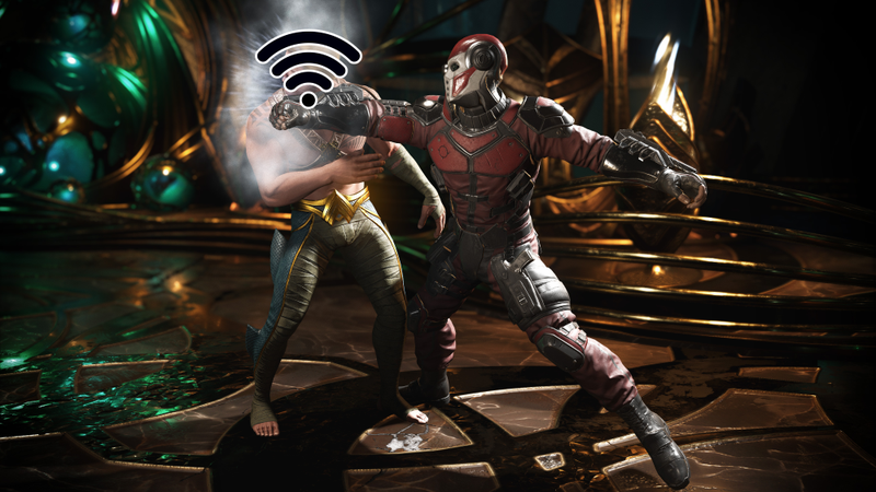 Illustration for article titled New Injustice 2 Update Shows Which Online Competitors Are Using Wi-Fi, Whether They Like It Or Not