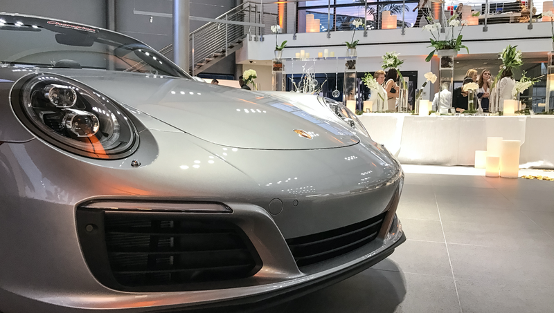 This Couple Topped Your Wildest Dreams By Getting Married In A Porsche Showroom