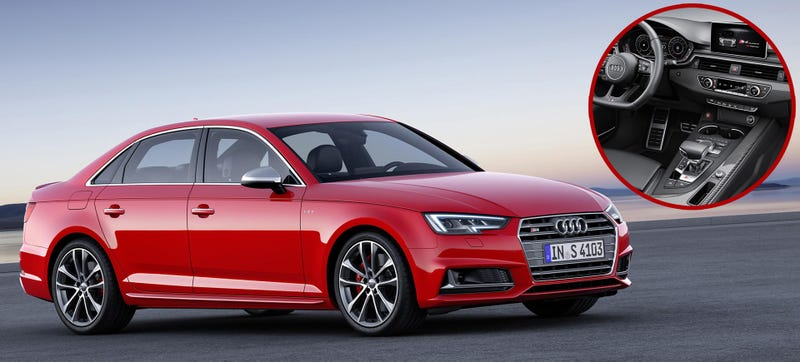 The New Audi S4 No Longer Has A Dual Clutch Transmission