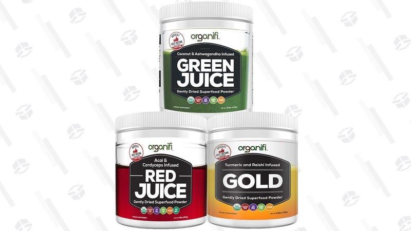 Organifi Superfood Gold Box | Amazon