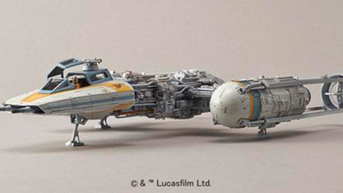 New Y-Wing Model Looks Good Enough To Have Died On Film
