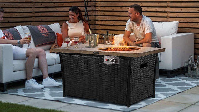 Enjoy the Outdoors (Someday, Hopefully) with $230 off Tacklife's Beautiful Fire Pit Table