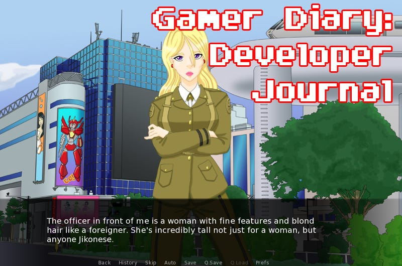 Illustration for article titled Developer Journal Day Sixty-Five