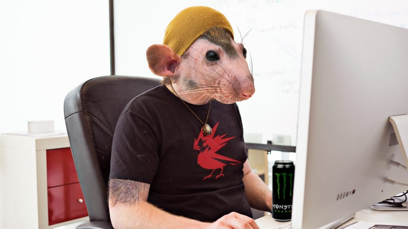 Illustration for article titled CD Projekt Red Says They've Eliminated The Need For Crunch On 'Cyberpunk 2077' By Breeding Grotesque Human-Rat Hybrid Programmers
