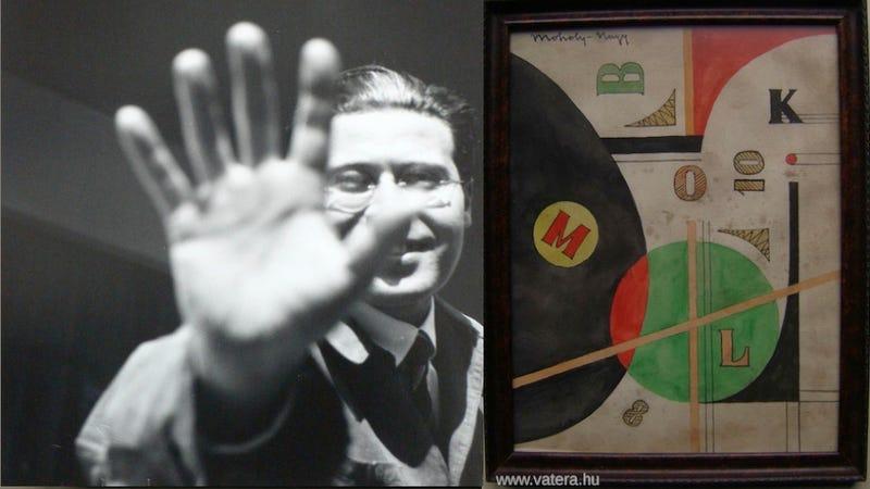 Illustration for article titled Vatera-figyelő: Vegyél te is állítólagos Moholy-Nagy-akvarellt!