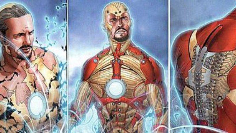 """Tony Stark's """"Bleeding Edge"""" Iron Man armor is stored in his bones."""