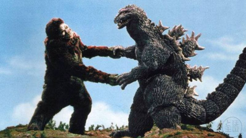 Illustration for article titled Warner Bros. schedules the Godzilla Vs. Kong showdown, pushes back Godzilla sequel
