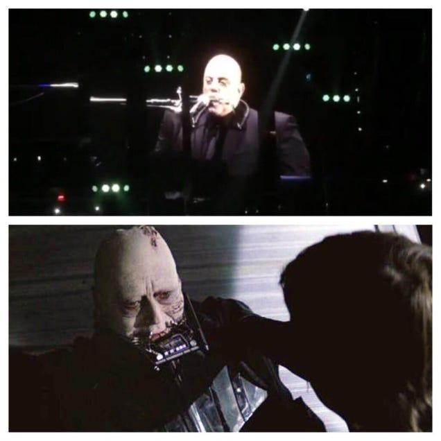 Yeah Billy Joel Playing Harmonica Does Look Like Anakin