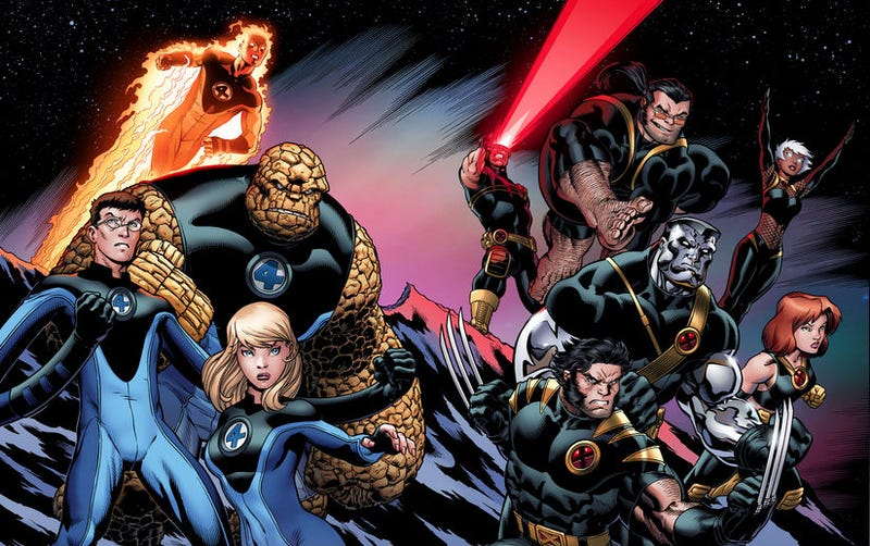 Illustration for article titled Bryan Singer Confirms Talks Of Possible X-Men/Fantastic Four Crossover