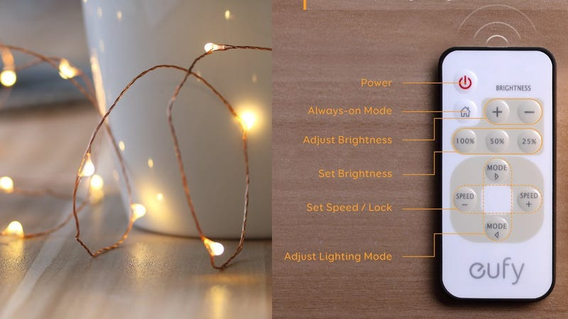 Eufy String Lights with Remote Control $14 with code ANTREAT6
