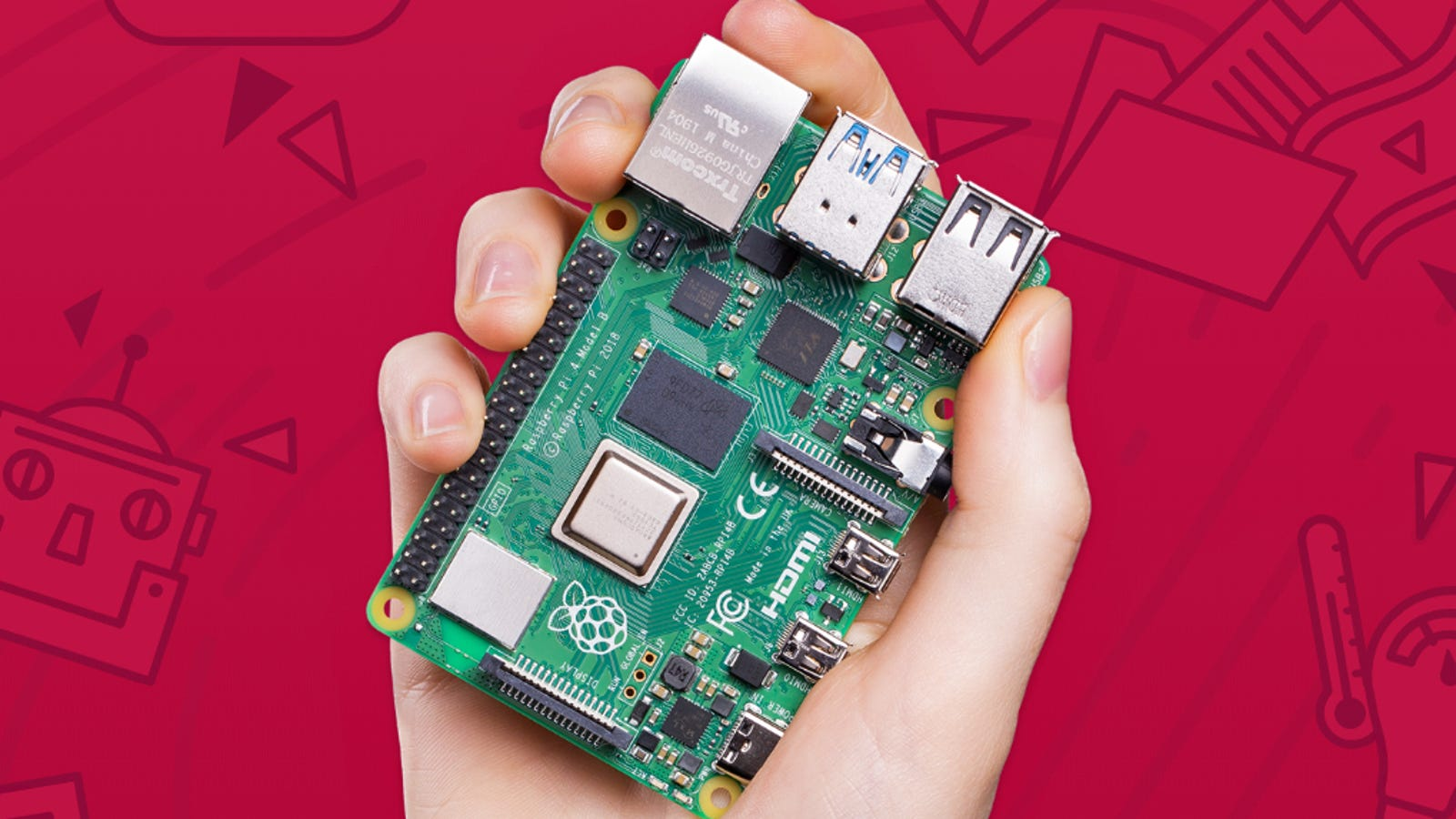 The New Raspberry Pi Is Basically a $35 Desktop Computer