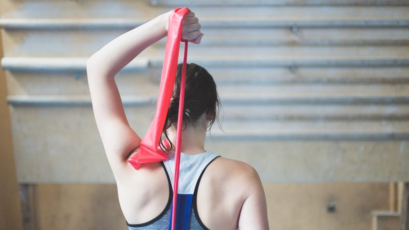 Try These Killer Core and Upper Body Resistance Band Exercises