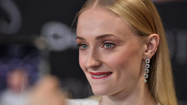 Sophie Turner had a downright filthy reaction to Arya's love life and it's pure poetry