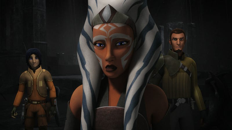 Illustration for article titled Star Wars Rebels'Second Season Is Brilliant, Its Blu-ray Set Less So