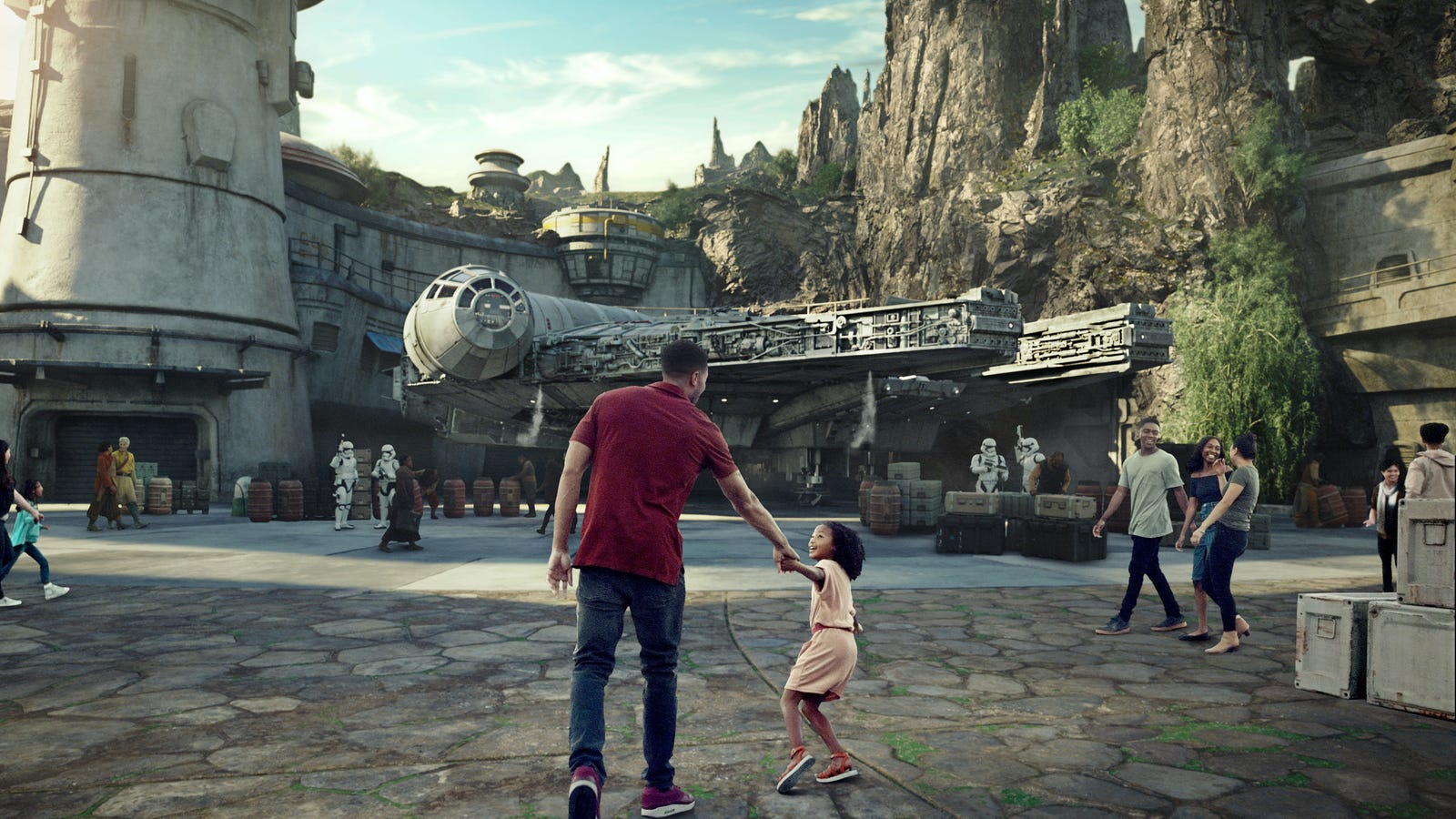 Star Wars Land Opens Up the Possibility to Live Your Dream