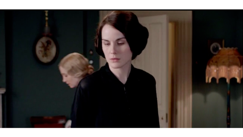 Illustration for article titled Lady Mary Is a Dead-Eyed Shut-In in Season 4 Premiere of Downton Abbey