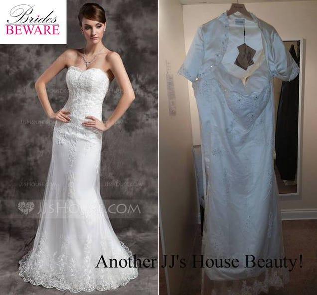 Knockoff Wedding Dress