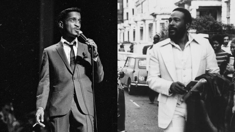 Illustration for article titled Biopics about Sammy Davis Jr. and Marvin Gaye are now in the works