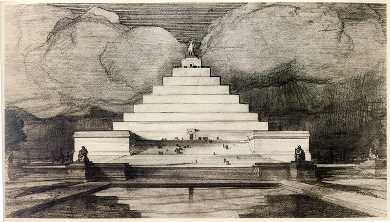 Great Architecture Buildings designs for great architectural landmarks that were never built