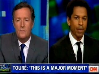 Piers Morgan and Touré (CNN)