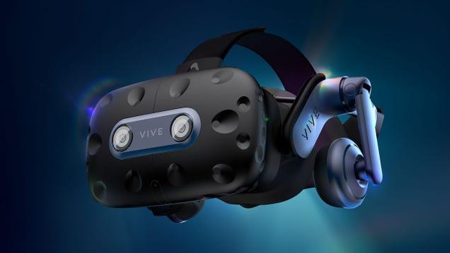 HTC Hopes Its Long-Awaited 5K Vive Pro 2 Headset Won t Make You Sick