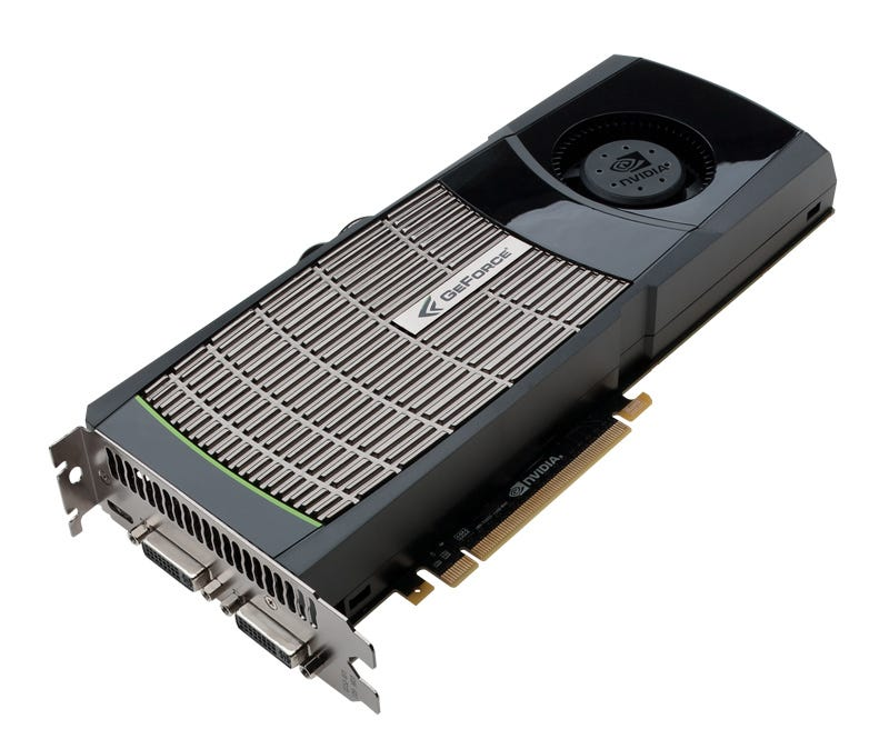 "Illustration for article titled Nvidia GeForce GTX 480: The ""Fastest GPU in the World"" Is $500 of Eyeball Toastiness"