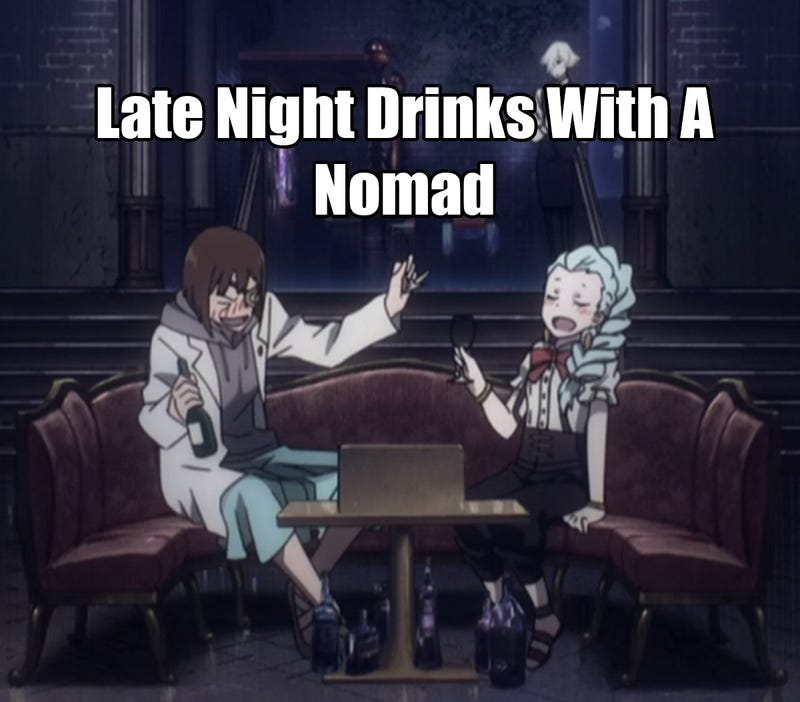 Illustration for article titled Late Night Drinks with a Nomad: Death Parade Episode 1
